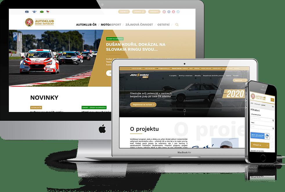 Web Autoklubu České republiky